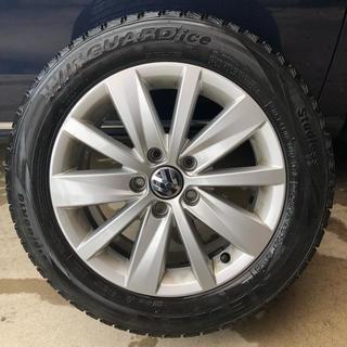 Volkswagen - 【中古純正品】ホイール&スタッドレスタイヤ4本セット VWパサートヴァリアント
