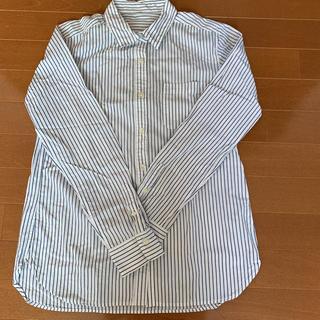 ムジルシリョウヒン(MUJI (無印良品))の美品!お買い得!MUJIストライプシャツ(シャツ/ブラウス(長袖/七分))