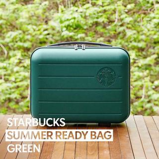 スターバックスコーヒー(Starbucks Coffee)の韓国限定 スターバックス starbucks サマーレディバッグ グリーン(スーツケース/キャリーバッグ)