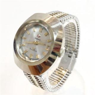 ラドー(RADO)のラドー RADO BALVOA 自動巻き 時計 カットガラス 動作確認済み(腕時計)