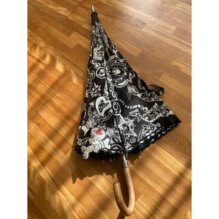 ヴィヴィアンウエストウッド(Vivienne Westwood)のVivienne Westwood LETITROCK!!スカル柄日傘(傘)