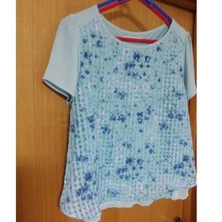 エニィスィス(anySiS)のanysis トップス Tシャツ シフォン(Tシャツ(半袖/袖なし))