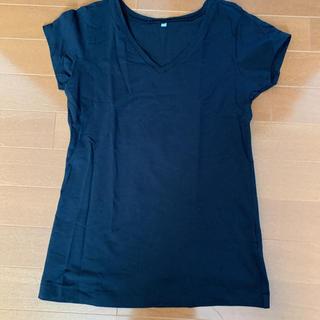 ムジルシリョウヒン(MUJI (無印良品))の美品!お買い得!MUJIVネック半袖Tシャツ(Tシャツ/カットソー(半袖/袖なし))