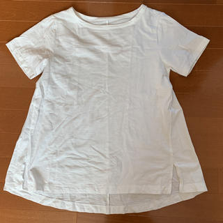 ムジルシリョウヒン(MUJI (無印良品))の美品!お買い得!MUJIボートネックTシャツ(Tシャツ(半袖/袖なし))