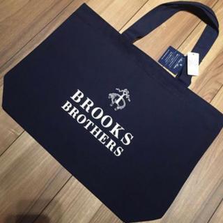 ブルックスブラザース(Brooks Brothers)の【タグ付き】BROOKS BROTHERS 大人気 トートバッグ 紺(トートバッグ)