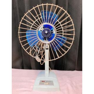 シャープ(SHARP)のSHARP PD-421 レトロ 扇風機 青(扇風機)