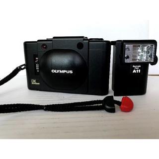 オリンパス(OLYMPUS)のOlympusXA4+A11フィルムカメラ+フラッシュ(フィルムカメラ)