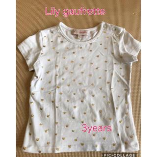 キャラメルベビー&チャイルド(Caramel baby&child )のTシャツ Lily gaufrette 3years(Tシャツ/カットソー)