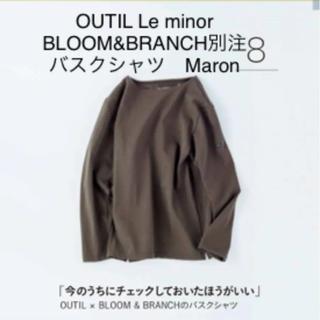 コモリ(COMOLI)のOUTIL BLOOM&BLANCH ウティ LE MINOR バスクシャツ(Tシャツ/カットソー(七分/長袖))