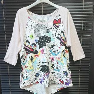 スカラー(ScoLar)のSCOLar 七分丈袖 Tシャツ M(Tシャツ(長袖/七分))