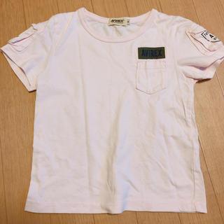アヴィレックス(AVIREX)のAVILEX!!子供用♡ピンクティシャツ♡Mさいず(Tシャツ/カットソー)