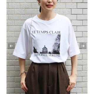 イエナ(IENA)のparis photo Tシャツ(Tシャツ/カットソー(半袖/袖なし))