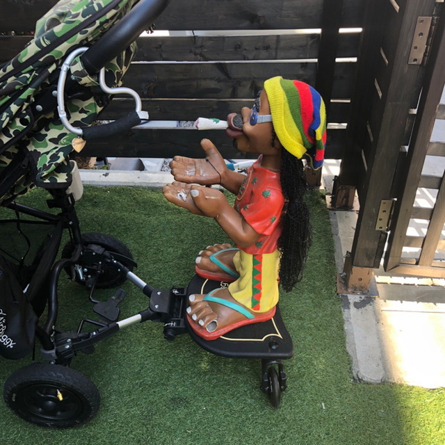 AIRBUGGY(エアバギー)の♡Air buggy 2way board♡ キッズ/ベビー/マタニティの外出/移動用品(ベビーカー用アクセサリー)の商品写真