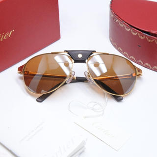 カルティエ(Cartier)のCARTIER カルティエ SANTOS-DUMONT EDITION 正規(サングラス/メガネ)