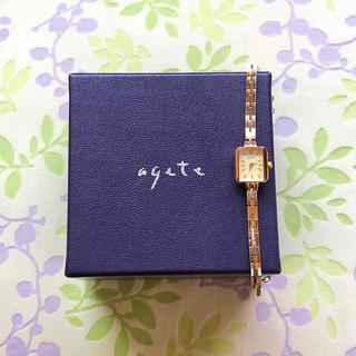 アガット(agete)のagete   ⑧   腕時計・稼動品✨(腕時計)
