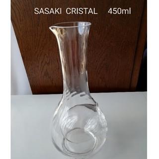 トウヨウササキガラス(東洋佐々木ガラス)のSASAKI  CRISTAL  冷やすカラフェ セレーブル(小)(アルコールグッズ)