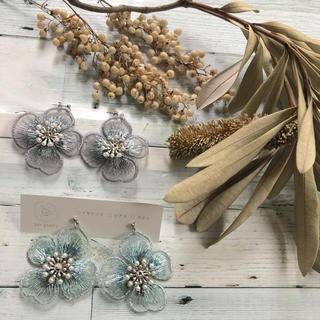 630 刺繍 earrings(ピアス)