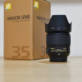 ニコン(Nikon)のAF-S NIKKOR 35mm f/1.8G ED(レンズ(単焦点))