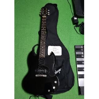 エピフォン(Epiphone)のEpiphone SG junior GIBSONロゴ(エレキギター)