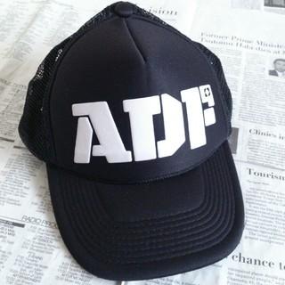 ルードギャラリー(RUDE GALLERY)の◆25 期間限定 レア ルードギャラリー ADF キャップ 黒 帽子(キャップ)