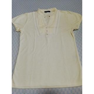 プーラフリーム(pour la frime)の㈱ジュン フリルスタンドカラーカットソー S〜Mサイズ(Tシャツ(半袖/袖なし))