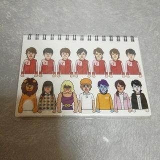 カンジャニエイト(関ジャニ∞)の◆リングミニノート◆(ノート/メモ帳/ふせん)
