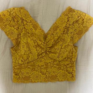 アンビー(ENVYM)の ENVYM 総レースTEE(Tシャツ/カットソー(半袖/袖なし))