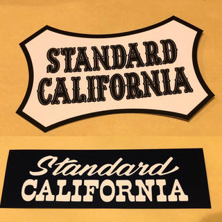 スタンダードカリフォルニア(STANDARD CALIFORNIA)のスタンダードカリフォルニア ステッカー 2枚(その他)