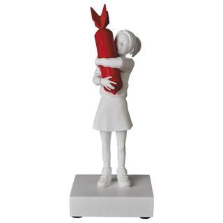 メディコムトイ(MEDICOM TOY)のBOMB HUGGER(RED BOMB Ver.)(彫刻/オブジェ)
