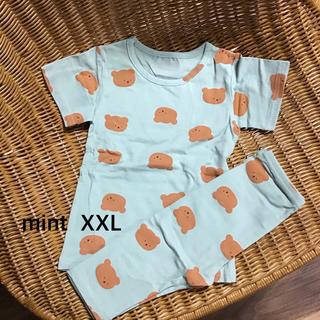 フタフタ(futafuta)の新品 韓国子供服 aosta くまさんパジャマ くま パジャマ ホームウエア(パジャマ)