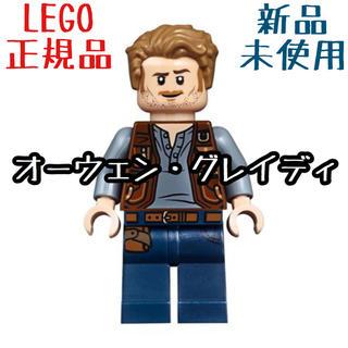 レゴ(Lego)の最安値 LEGO レゴ 正規品 ジュラシック・ワールド オーウェン ミニフィグ(SF/ファンタジー/ホラー)