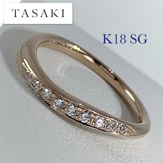 タサキ(TASAKI)の最終値下げ ☆ TASAKI / K18PG / ダイヤ0.06ct / #3 (リング(指輪))