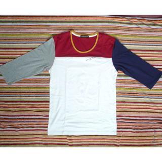ハイダウェイ(HIDEAWAY)のHIDEAWAYS NICOLE 7分袖Tシャツ 新品 S~Mサイズ【送料込】(Tシャツ/カットソー(七分/長袖))