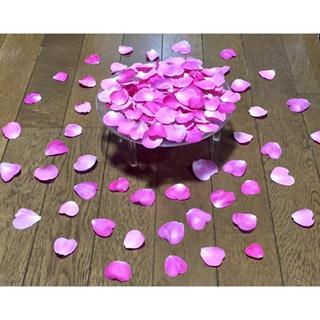 お花屋さんが作ったハート型の薔薇の花びらのドライフラワー山盛り100枚‼️(ドライフラワー)