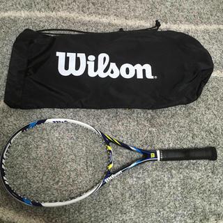 ウィルソン(wilson)の美品 Wilson ウィルソン テニス ラケット JUICE ジュース 100 (ラケット)