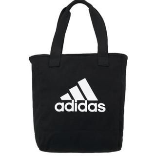 アディダス(adidas)のadidas  ビッグロゴ トートバッグ ブラック 10L  (トートバッグ)