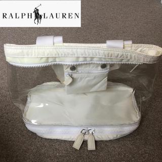 ラルフローレン(Ralph Lauren)のラルフローレン ビニールバッグ(トートバッグ)