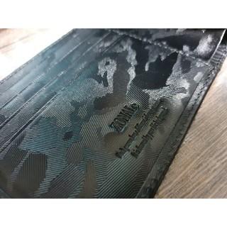 <ZONALe / MAURO> 本革カモフラージュ エンボス / 二つ折財布(折り財布)