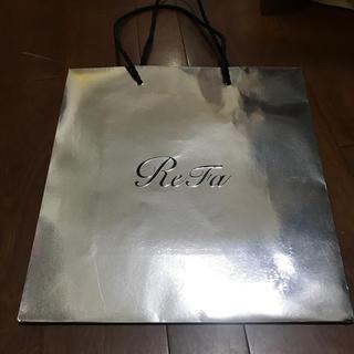 リファ(ReFa)のReFa紙袋(ショップ袋)