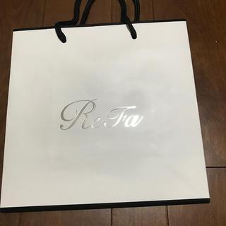 リファ(ReFa)のReFaの紙袋(ショップ袋)