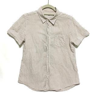 パーリッシィ(PAR ICI)のストライプシャツ(シャツ/ブラウス(半袖/袖なし))