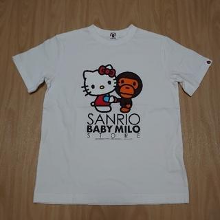 アベイシングエイプ(A BATHING APE)のA BATHING APE Tシャツ サンリオ キティコラボ(Tシャツ/カットソー)