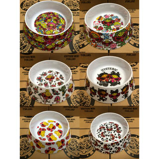 ヒステリックミニ(HYSTERIC MINI)のヒスミニ スナックディッシュSNACK DISHお皿6点セット(食器)