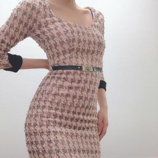 デイジーストア(dazzy store)のchange clothes タイトドレス(ミニドレス)