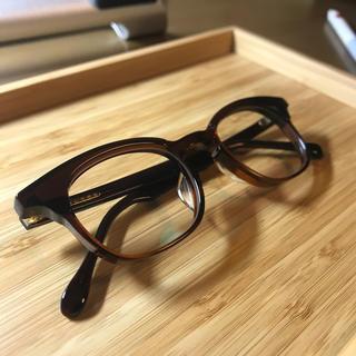 白山眼鏡 POST ブラウン(サングラス/メガネ)