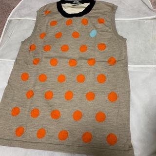 フェンディ(FENDI)のFENDI  袖なしニット(カットソー(半袖/袖なし))