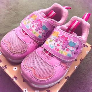 バンダイ(BANDAI)の定価3500円 使用回数少 15 cm スニーカー 靴 ひみつのここたま(スニーカー)