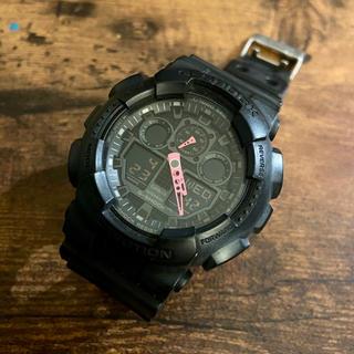 ジーショック(G-SHOCK)のG-SHOCK / GA-100C-1A4JF(腕時計(デジタル))