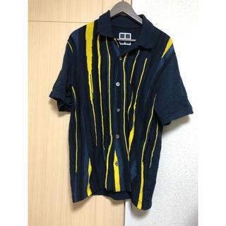 ラフシモンズ(RAF SIMONS)のTASHIRO★20ss ニット ポロシャツ(ポロシャツ)