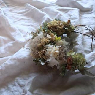 紫陽花とスモークツリーのリース(リース)